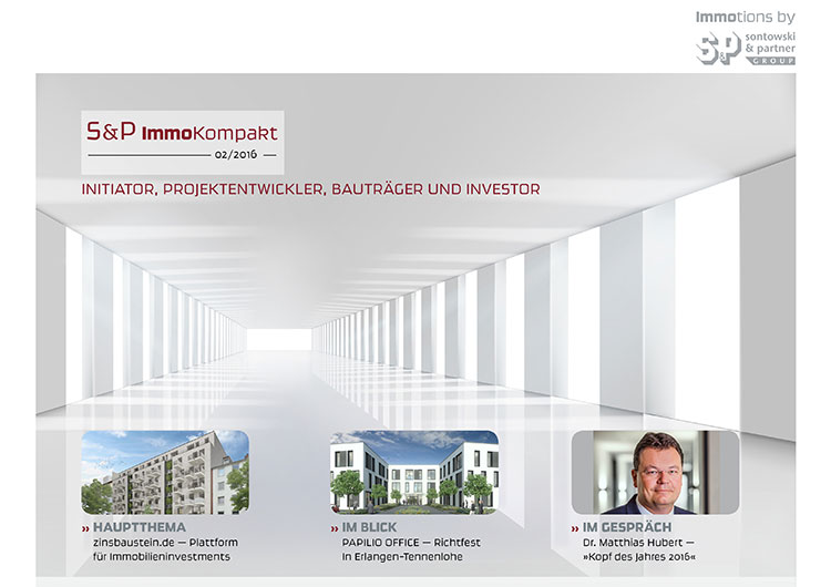 Sontowski & Partner ImmoKompakt Newsletter