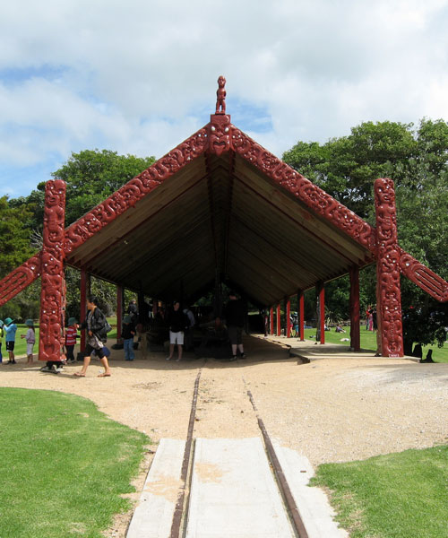 Waitangi Treaty Grounds - Boat House