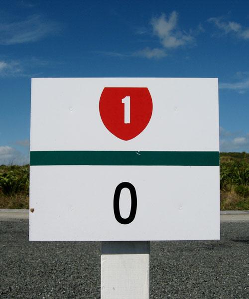 State Highway No 1 - Cape Reinga NZ