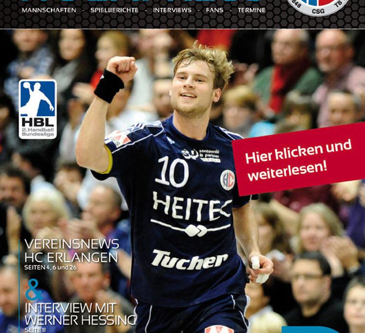 HC Erlangen - HCE Magazin 2018