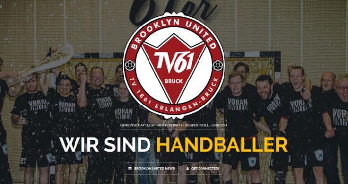 Brooklyn United Handball TV 1861 Erlangen Bruck Homepage