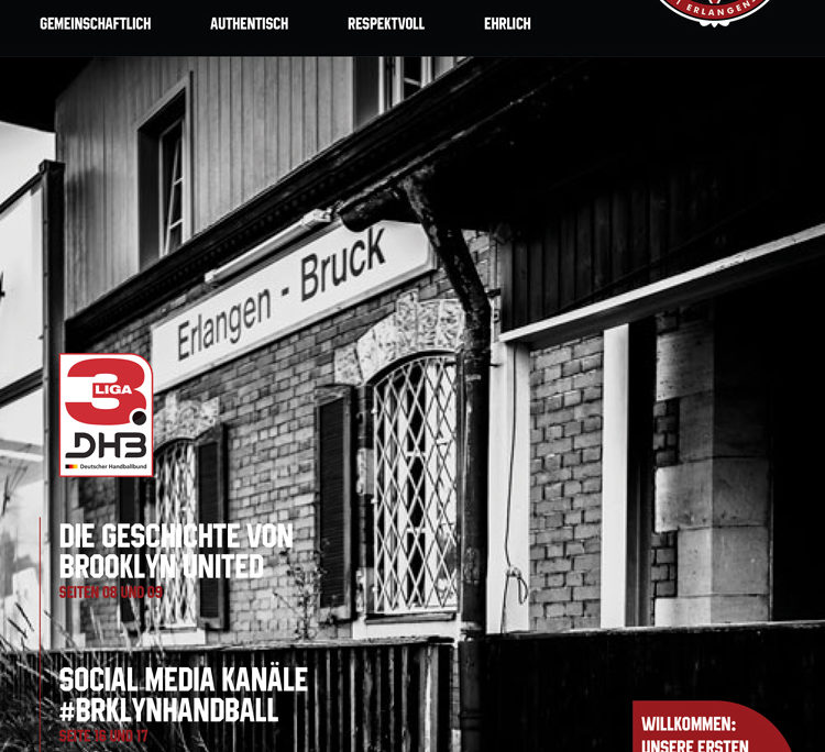 Brooklyn United Handball TV 1861 Erlangen Bruck Magazin
