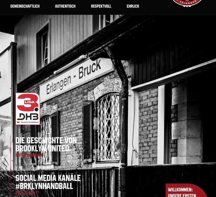 Brooklyn United Handball TV 1861 Erlangen Bruck Magazin