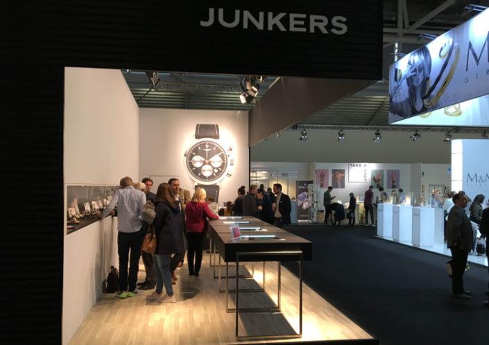 Inhorgenta Munich Fair 2019 – Junkers Uhren Stand