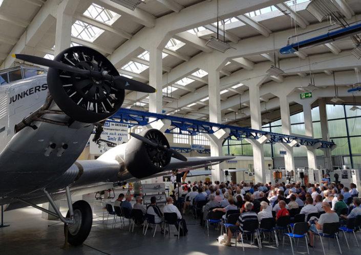 Technik Museum Dessau - 100 Jahr Feier Hugo Junkers 25.06.2019 Dessau
