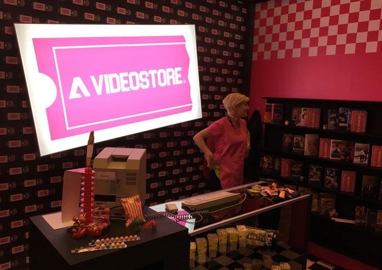 DMEXCO Adobe Videostore 90ies Tour.