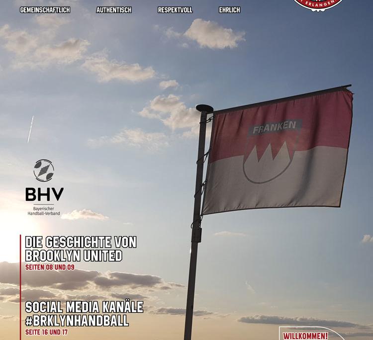 Brooklyn United Handball TV 1861 Erlangen Bruck Magazin 2019