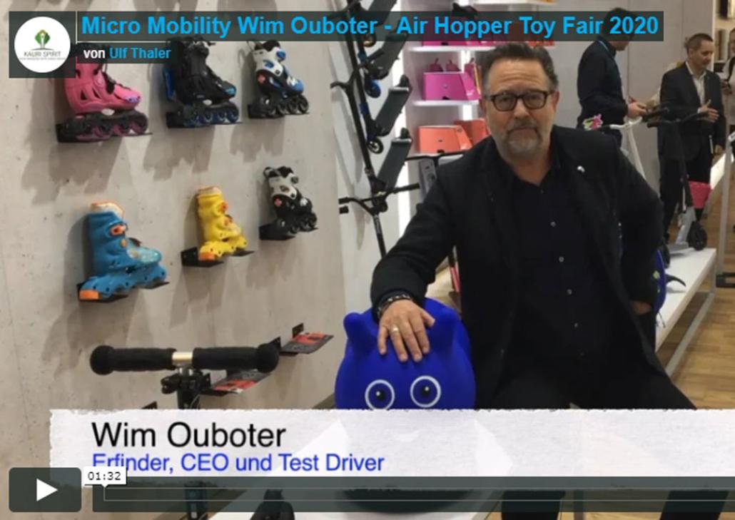 Toy Fair Spielwarenmesse Videoredaktion Micro Mobility 2020