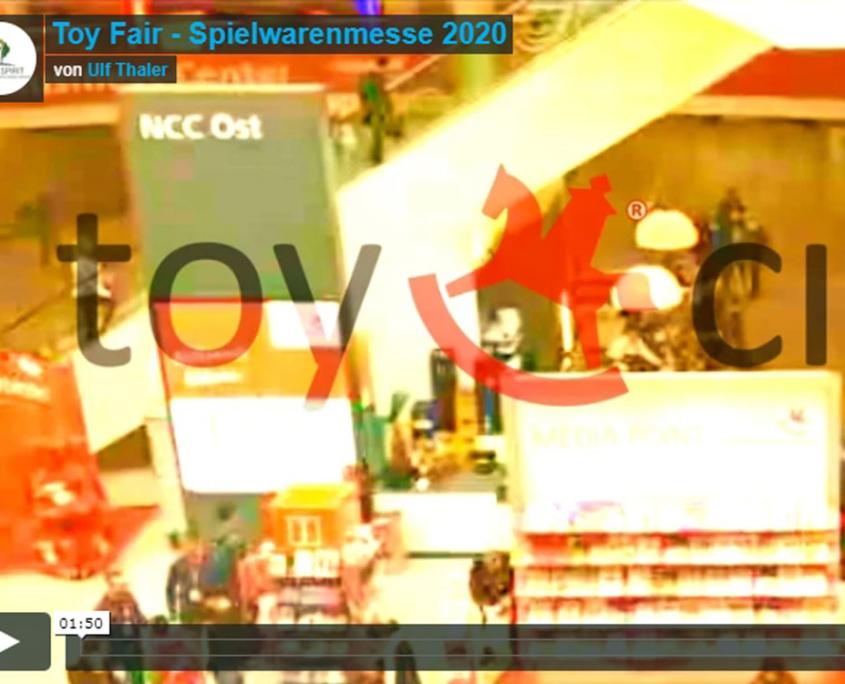 Toy Fair Spielwarenmesse Videoredaktion 2020