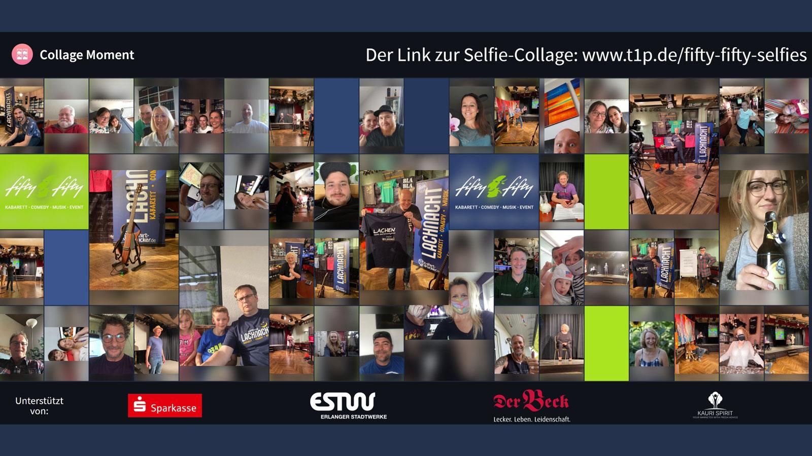Kauri Spirit LachNacht Collage Mai 2020