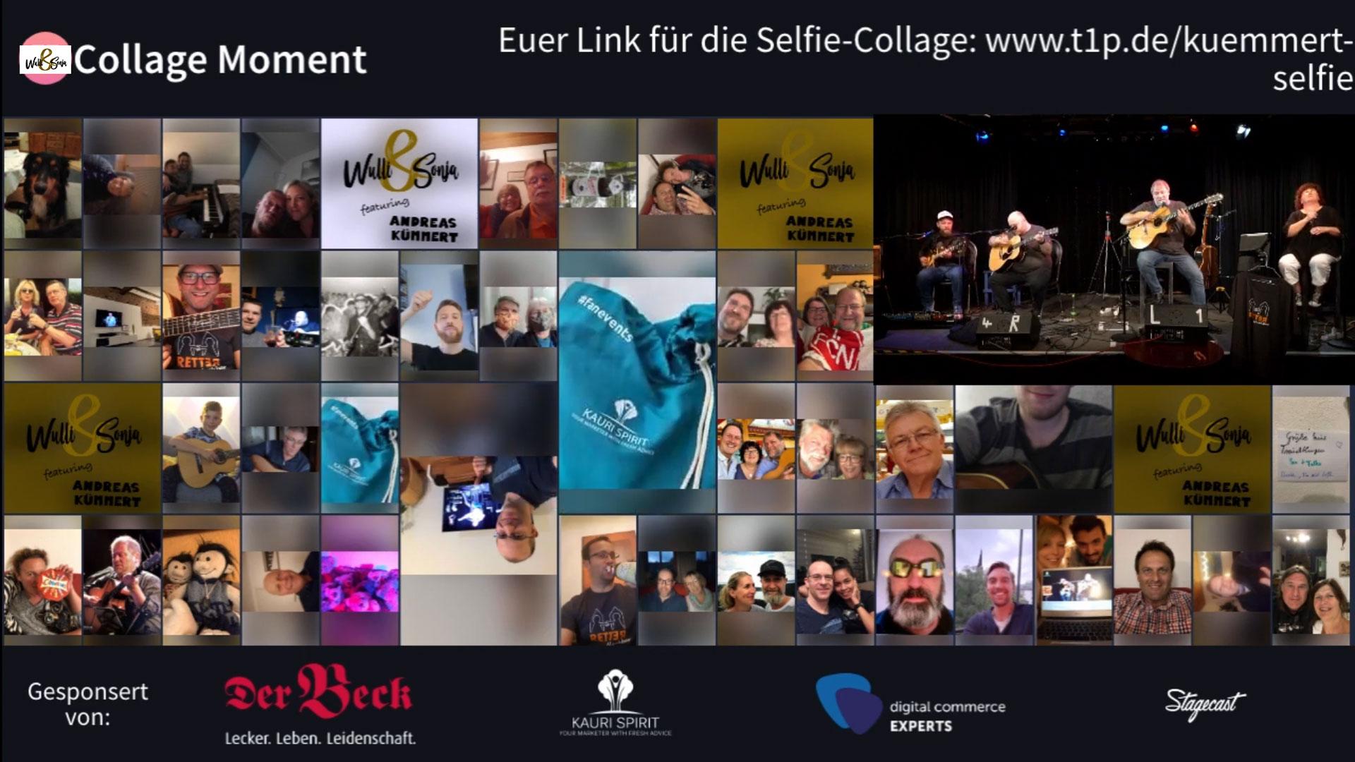 Kauri Spirit Wulli und Sonja Andreas Kümmert Konzert Stagecast 2020
