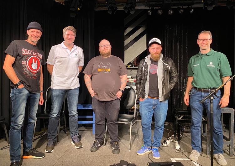 Kauri Spirit Team mit Andreas Kümmert und Stefan Kahne 2020