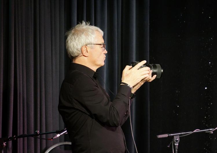Sven Krumnacker an der Kamera - Momente ohne Publikum Konzert Part #3