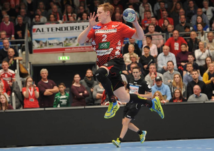 Nicky Verjans Rechtsaussen HSG Nordhorn-Lingen