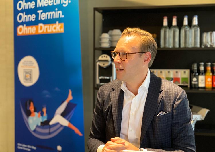 Pressekonferenz der PS Group mit Marc Sontowski (Geschäftsführer PS Group) in Nürnberg 09.2020