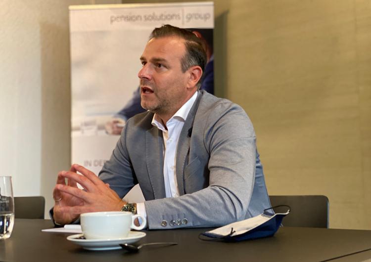Pressekonferenz der PS Group mit Tobias Bailer (Geschäftsführer PS Group) in Nürnberg 09.2020
