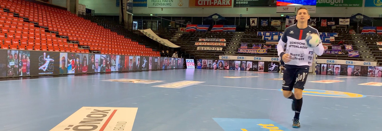SG Flensburg-Handewitt Fan-Collage LED Bande 2020