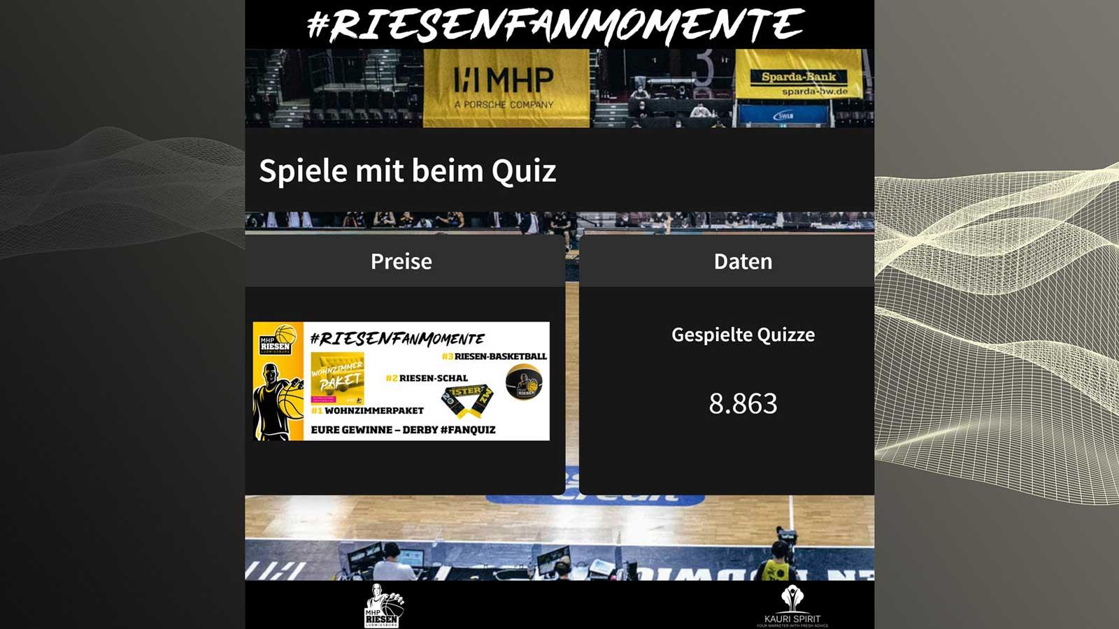 MHP RIESEN Ludwigsburg Fan-Momente BBL 2021